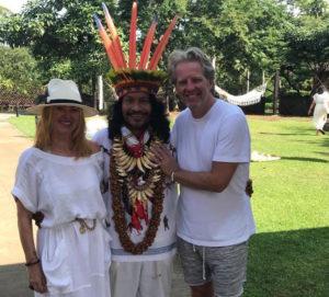 Jacqui, Dave, Shaman, Costa Rica