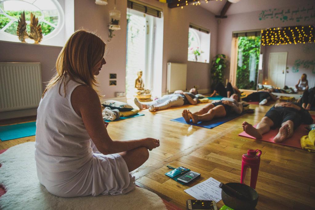Kundalini yoga class