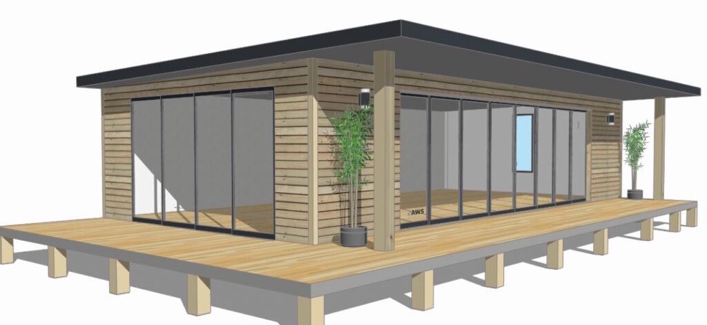 Woodland structure, Beachyjax